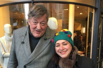 Stephen Fry Fundraising