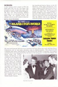 World Film Premier 1974
